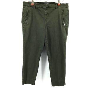 LEVEL 99 Francis Lacey Double Welt Zip Trouser